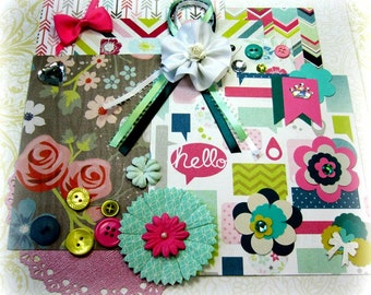MME Collectable Scrapbook Embellishment Kit Inspiration Kit Life Project Kit for Scrapbooking Cards Mini Albums Tags and Papercrafts