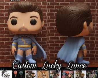 "Lucky Lance ""The Sidekick"" - Custom Funko pop toy"