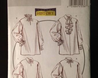 Butterick Pattern 5008 Historical Tunic Blouse Costume sizes XL XXL XXXL