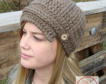 Juniper Crochet Cap Crochet Hat Pattern