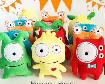 Stuffed Monsters - Boy Baby Shower Favors - Adopt a Monster Birthday Party - Monster Plush - Toy Monster - Party Favors - Party Decorations