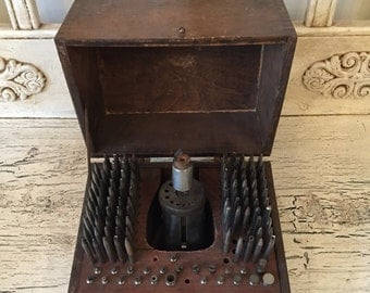 Antique Watchmakers Tools - Staking Tools in Original Box