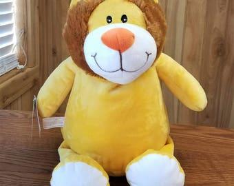 Personalized Cubbie Lion Monogrammed Stuffed Animal Baby Shower Gift Keepsake