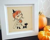 Little Pumpkin Witch