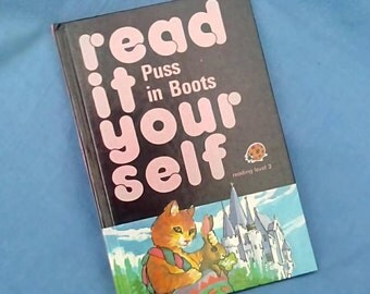 Puss in Boots - Vintage Ladybird Book Series 777 Read It Yourself Level 3 - Reading Scheme - Glossy Covers
