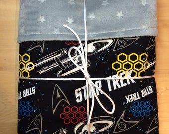 Star Trek baby blanket