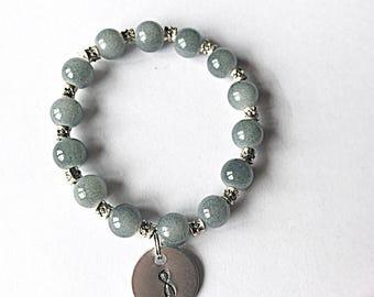 BPD Awareness Bracelet - Borderline Personality Disorder - Awareness Jewelry - Mental Health - Stretch Bracelet - Elasticated Bracelet