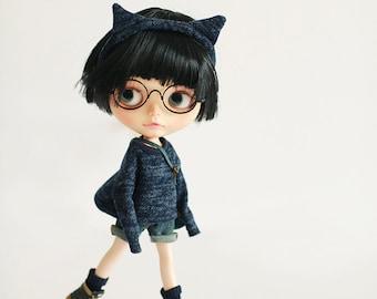 Missyo 2017 Winter & Spring - Cutie Ear Set for Blythe doll - Blue