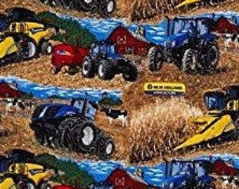 New Holland Tractor And Farm Equipment Fabric
