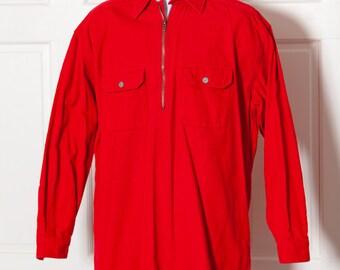 Vintage UNLIMITED MARLBORO Corduroy Red Shirt
