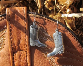 Cowboy Boot Earrings - LT290