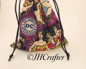 Wonder Woman Dice Bag, Dungeons and Dragons, DnD, D&D, DC Comics