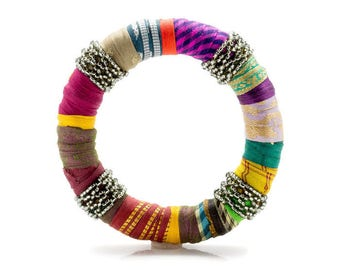 Colorful Bracelets, African Bracelets, Ethnic Bracelets, Tribal Bracelets, Ethnic Jewelry, Textile Jewelry, Tribal Jewelry, Gift For Her