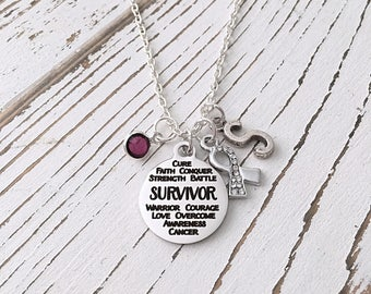 Personalized Survivor Necklace