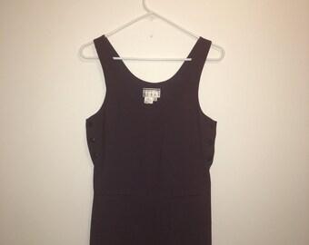 Kenar Vintage Purple Jumper mini Dress