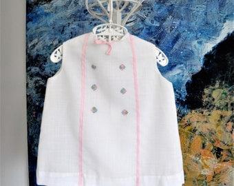 Baby Dress, Vintage Baby Dress, White Baby Dress, Vintage Baby Clothes, Baby Girl Dress, Toddler Dress, Baby Girl Clothes, Baby Party Dress