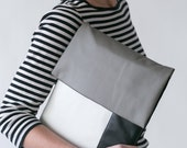 MAC SLEEVE laptop sleeve laptop case minimalist laptop sleeve vegan mac cover black white grey geometric laptop sleeve geometric laptop bag