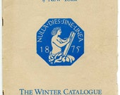 Art Students League NY Winter 1929-1930 Catalogue/Thomas Hart Benton/John Sloan/William Zorach Among Faculty