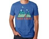 Hiking Shirts | Hiking Tshirt | Camping Shirt  | Graphic Tee | mens tshirt | Mountain T-shirt | Mountain Shirt | gift for him