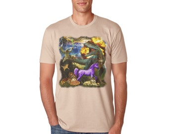 Graphic Tees | Graphic T Shirt, Pizza, Unicorn, Dinosaur, Cat, Sloth, Wolf, Tiger | graphic tees for men | mens graphic tees | gifts for him