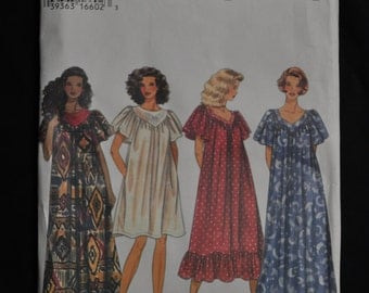 Misses' Dress -  Sizes XS-S-M - Pull over Dress - Simplicity Pattern #9408 - UNCUT