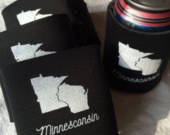 Minnesconsin Can Cooler Can Insulator