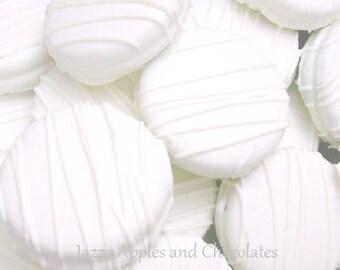 White Chocolate Oreos