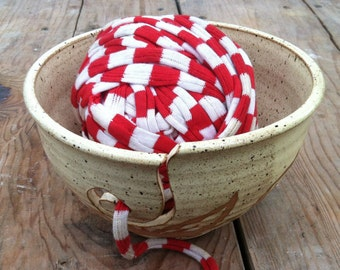 Yarn Bowl, Pottery Yarn Bowl