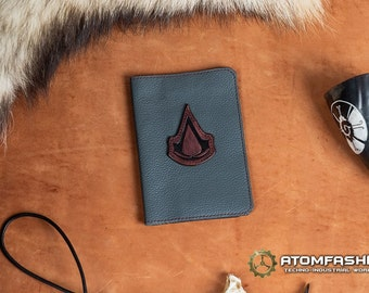 Assassin's Creed leather passport cover