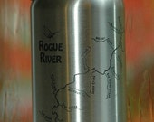 Rogue River Map BEER BOTT...