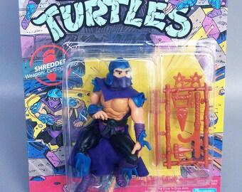 Vintage 1988 TMNT Soft Head Shredder 100% Complete C10 MINT - Teenage Mutant Ninja Turtles