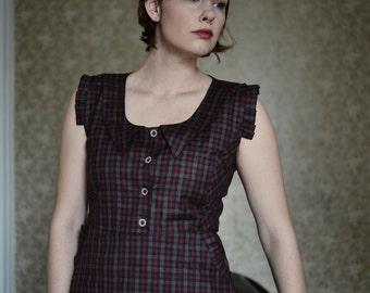 Sullivan Dress 1930s Dress / Peter Pan Collar Dress / Dresses for Women / Retro Dress / Cute dresses / Vintage Dress / 1930's Dress / Pretty