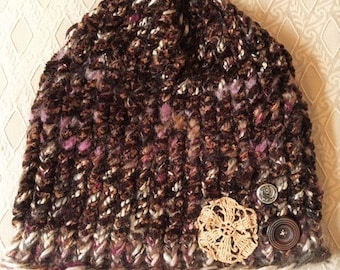 Hand knitted Soft Hat For Those Cold Nights