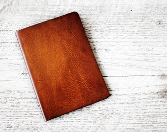 Leather Passport Cover, Personalized Travel Wallet in Antiqued Brown Leather- Passport Holder Travel Gift, Handcrafted of Genuine Leather