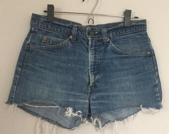 Vintage Levis SF 207 Jean Shorts