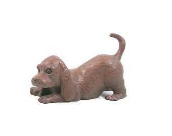 Red Mill Mfg Playful Puppy Figurine