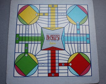 Transogram, 1955, Pachizsi Game Board