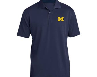 Michigan Wolverines Primary Logo Polo
