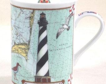 Cape Hatteras LIghthouse Mug Danbury Mint
