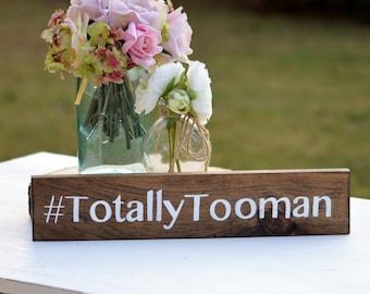Wood hashtag sign, wedding hashtag sign, rustic wedding sign, photo prop, custom sign