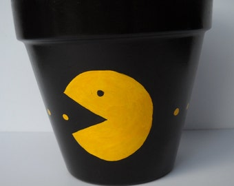 Ghosts Are Chasing Me Mr. Pac-man Inspired Planter