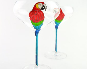 Parrot Champagne Coupe