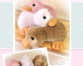 Fluffy Duck Pattern