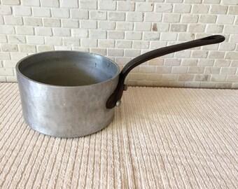 Vintage E. Dehillerin Paris Cast Aluminum Small Sauce Pan