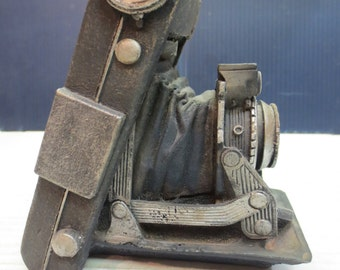 Kodak Six-16 or Six-20 Camera made of Stone, One of a Kind