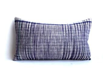 Oversized Purple Kidney Pillow