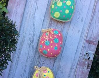 Easter Egg Wreath, Egg Door Hanger, Easter Egg Door, Egg Wreath, Easter Wreath,  Double Door Wreath, Easter door hanger, Burlap Easter decor