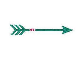 single arrow embroidery  arrow embroidery design arrow embroidery addon arrow embroidery design