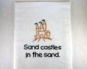 Made to Order - How I Met Your Mother Kitchen Towel - Robin Scherbatsky - Sandcastles in the Sand