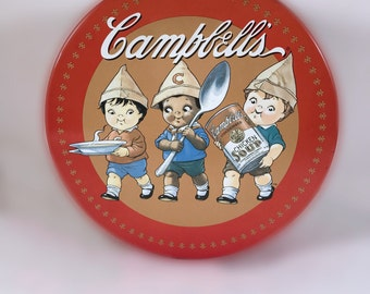 Vintage Campbell's Soup Tin - Campbell's Soup Collectible Round Tin